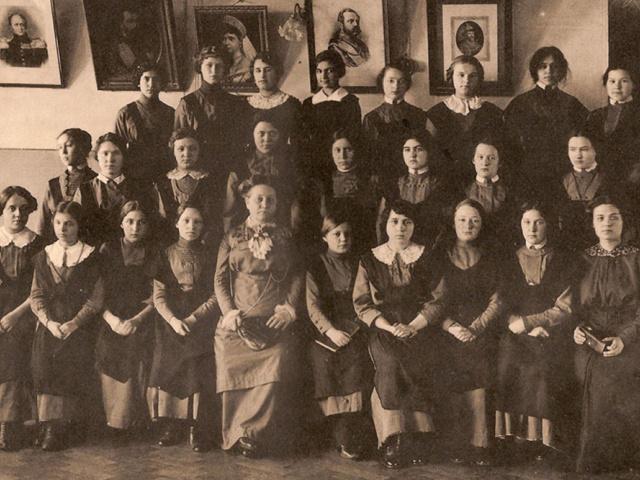 Елизавета Павловна Сатина и её частная гимназия